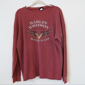 HARLEY DAVIDSON TENNESSEE GRAPHIC THERMAL SHIRT